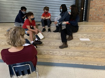 Book talks help us to dig deeper into the layers of the story