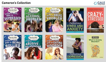 CAMERON'S COLLECTION OF EBOOKS FOR MENTAL HEALTH AND AWARENESS