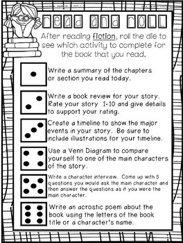 Roll and Write About Fiction