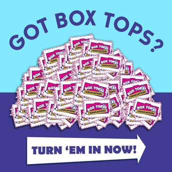 Box Tops are Due!