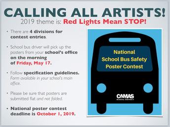 SCHOOL BUS SAFETY POSTER CONTEST