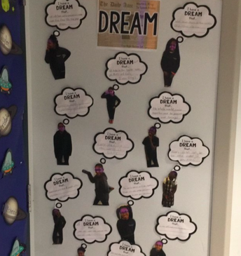 Students in 4A share their own, I have a DREAM...