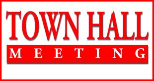 TOWN HALL MEETING - MONDAY, APRIL 29