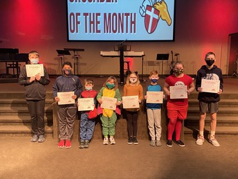 February Crusaders of the Month