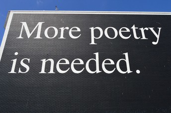 Poetry is a container. It gives shape to words and ideas!