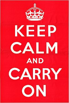 Keep Calm and Carry On Group Sessions