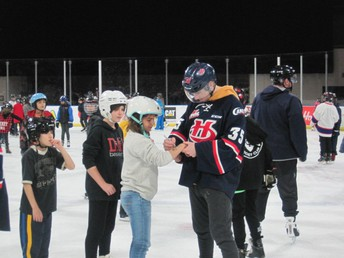 Skating with the Hurricanes