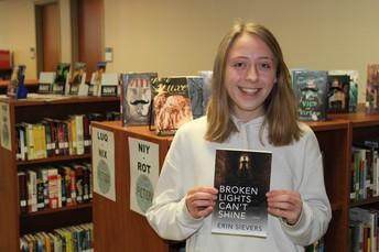 SHS Senior Erin Sievers Becomes Worldwide Author