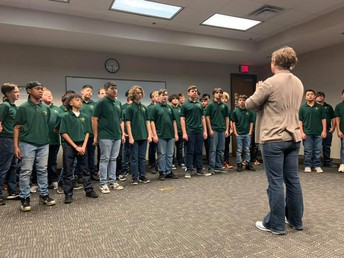 SMS Choir at DISD Central Services