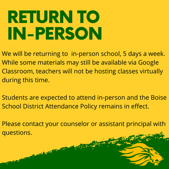 Return to In-Person
