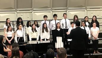 Marie Murphy Choir Shines This Winter!