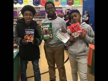 5th Grade Boys Love Scholastic Book Fair