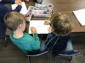 Kindergarten Students Working Hard & Being SRR