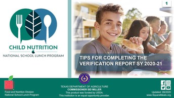 Tips For Completing Verification Report