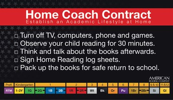 Home Reading begins October 5!