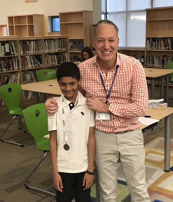 Geography Bee Champion: Sri (Sunny) Daxikar