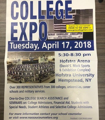 College Expo April 17, 2018
