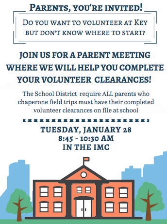 Want to volunteer but don't have your clearances?