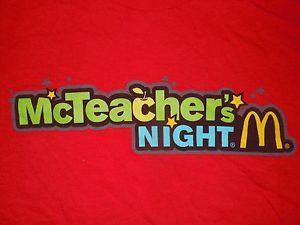 McTeacher Night for the Coakley PTO