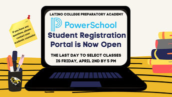 DON'T FORGET TO SELECT YOUR CLASSES FOR NEXT YEAR ON POWERSCHOOL.