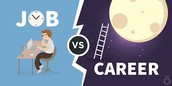 1. What's the difference between a JOB and a CAREER?