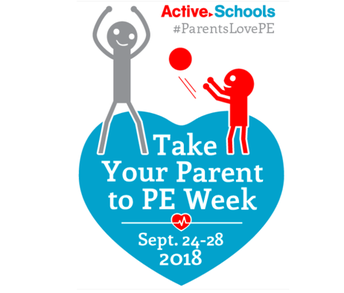 Midway's 2nd Annual Take Your Parent to PE Week was a huge success!