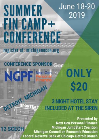 NEW - Secondary Econ Teachers: Summer FinCamp+