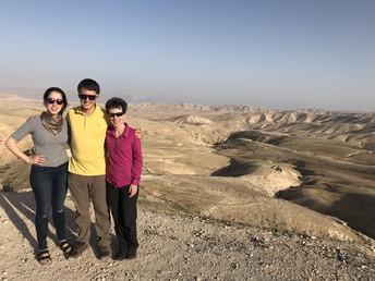 Overlooking the Judean Desert