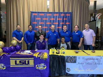 Drost, Johnson to Continue Football Careers at Collegiate Level