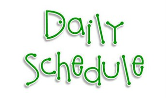 RCES Daily Schedule