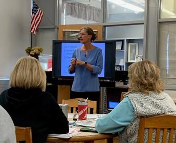 Partnership with Dr. Carol Donovan, Director of UA's Belser-Parton Literacy Center