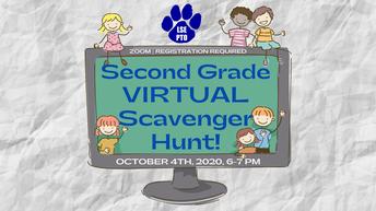 2nd GRADE Virtual Scavenger Hunt!