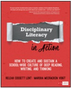 ReLeah Lent Disciplinary Literacy in Action Book Study