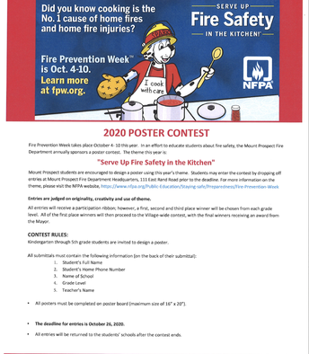 MPFD Poster Contest