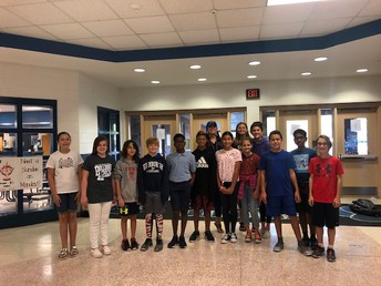 Our 6th Grade Students (Bulldogs) of the Month