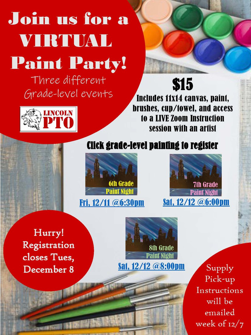 PTO PAINT PARTY