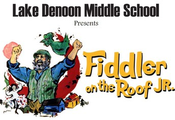 Lake Denoon Presents Fiddler on the Roof Jr.