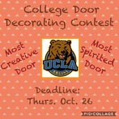College Door Decorating Contest
