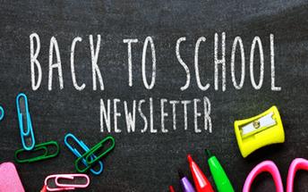 Back to School 2019-2020 Newsletter Vol 2