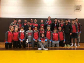 Wrestling Team Makes MC HISTORY!