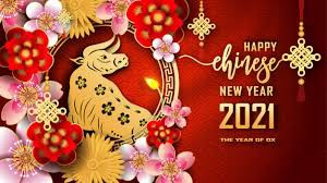 Chinese New Year Out of Uniform Day - Wear red , yellow, and/or gold - Thursday, February 11, 2021