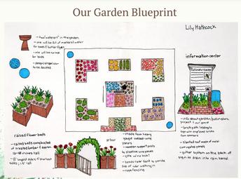 BTMS Girl Scouts Plan Community Garden