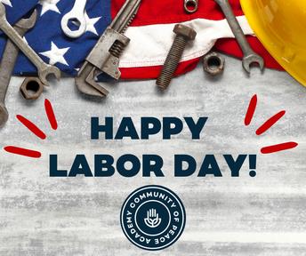Happy Labor Day! CPA logo.