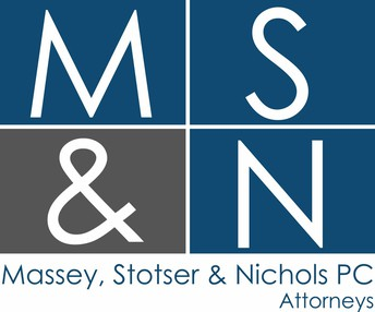 Massey, Stotser and Nichols PC Attorneys logo