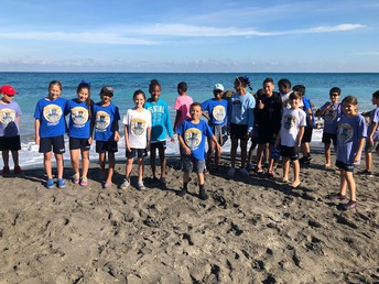 Fifth Grade Spends a Day at Dickinson State Park