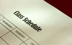2021-2022 Student Schedules