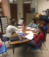 Small group work with Ms. Ciak