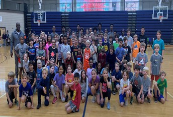 DHS Boys Varsity Basketball Team Hosts an Awesome Basketball Clinic