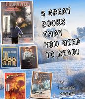 5th Grade BOOK POSTERS