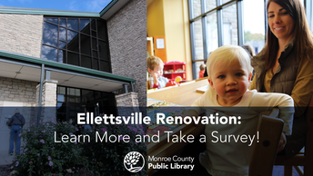 Monroe County Public Library CLOSING for Renovations in August